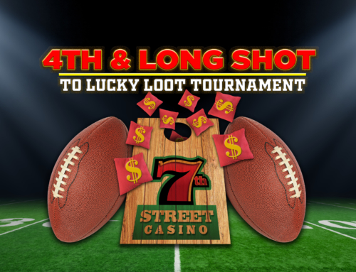 4TH & LONG SHOT TO LUCKY LOOT
